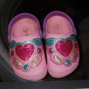 CROCS Shoes - Crocs light up toddler size 6